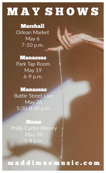 May 2017 Shows