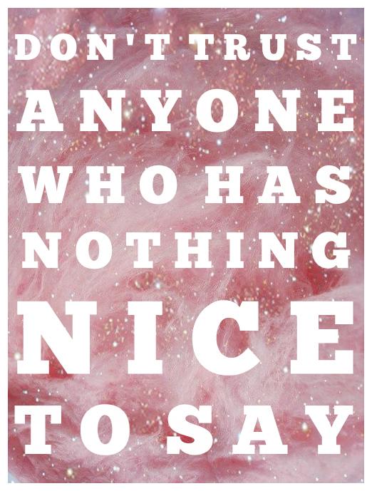 Nothing Nice